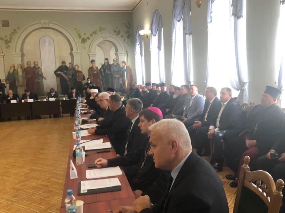 Засідання Всеукраїнської ради церков